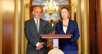 Transcript of Joint Press Briefing by President Ashraf Ghani and Speaker Nancy Pelosi